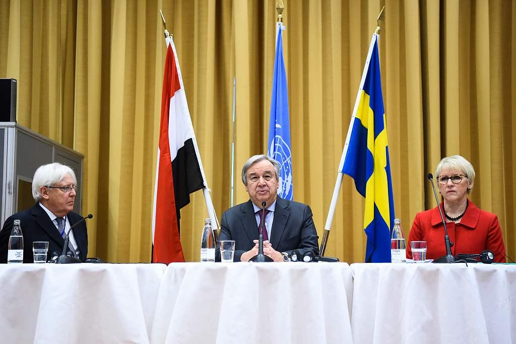 Saudi Arabia welcomes agreements between Yemeni gov't, Houthi rebels in Sweden