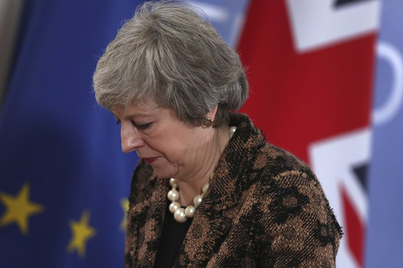UK's May sticks to her Brexit plan despite rebuff from EU