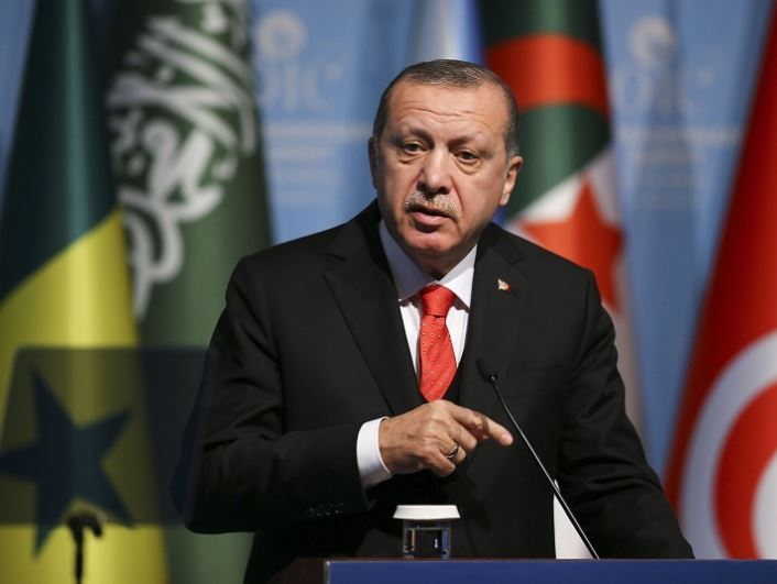 Erdogan warns Turkey runs 'out of patience' with US over Kurdish issue in Syria