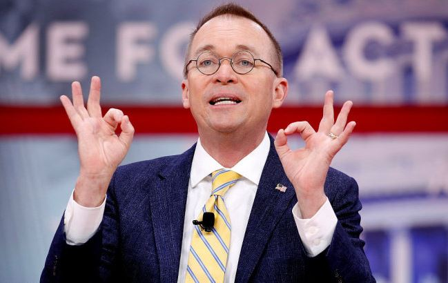 Trump names budget director Mulvaney as acting chief of staff