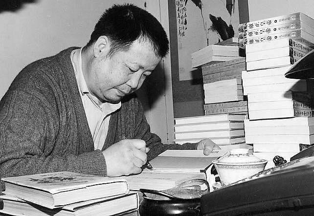 Famous historical novel writer Eryuehe passes away
