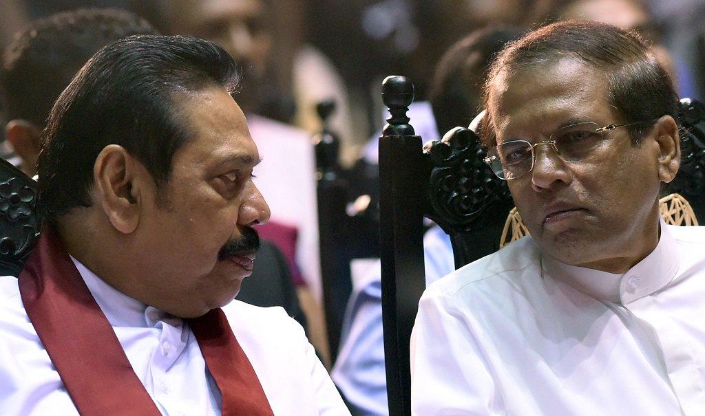 Sri Lanka's challenged PM Mahinda Rajapaksa to resign