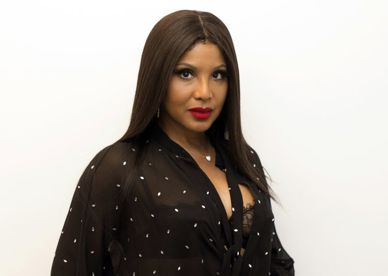 Toni Braxton is in the holiday spirit with Lifetime movie