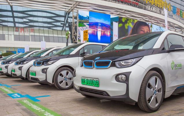 BMW launches ride-hailing service in Chengdu