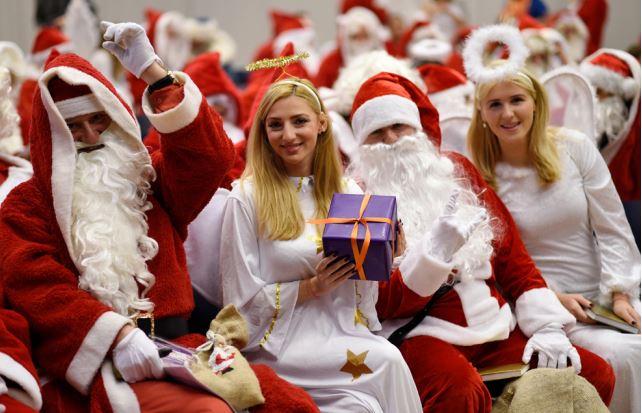 Germany suffers severe Santa shortage as Christmas draws near