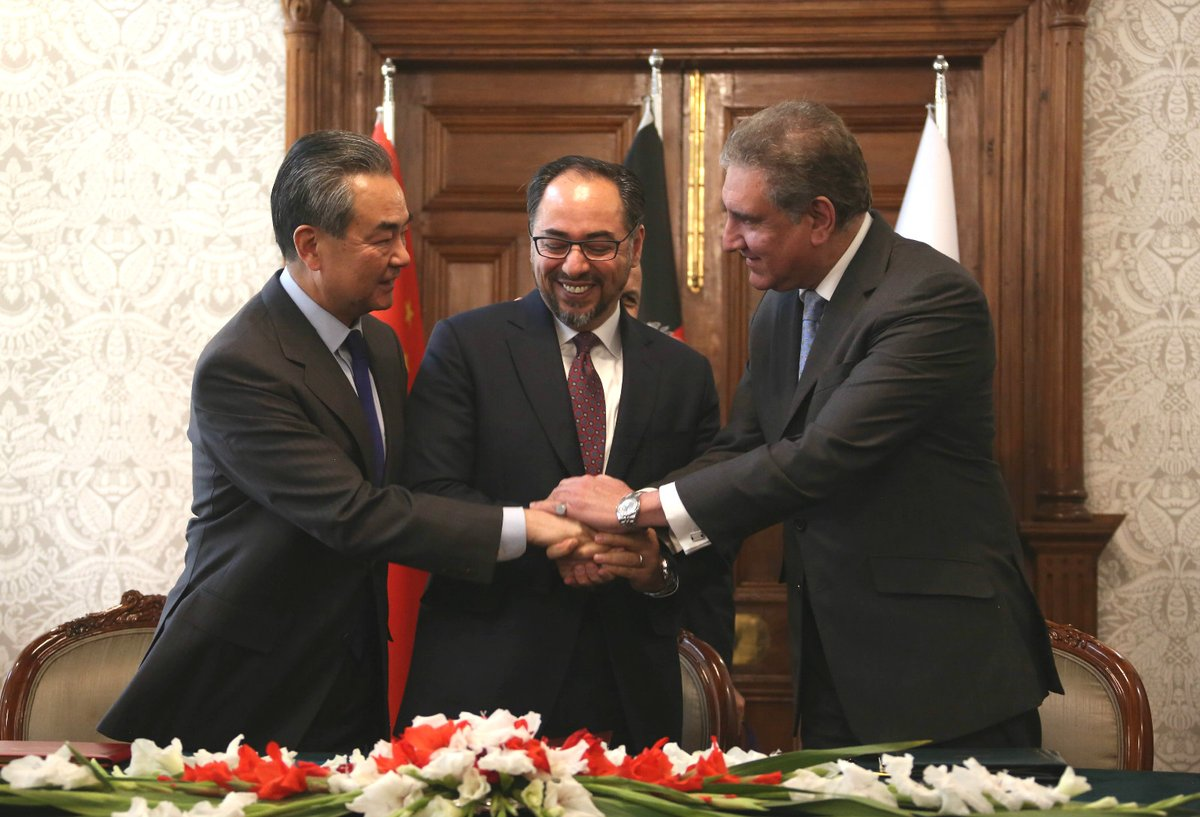China, Afghanistan, Pakistan agree to promote trilateral cooperation