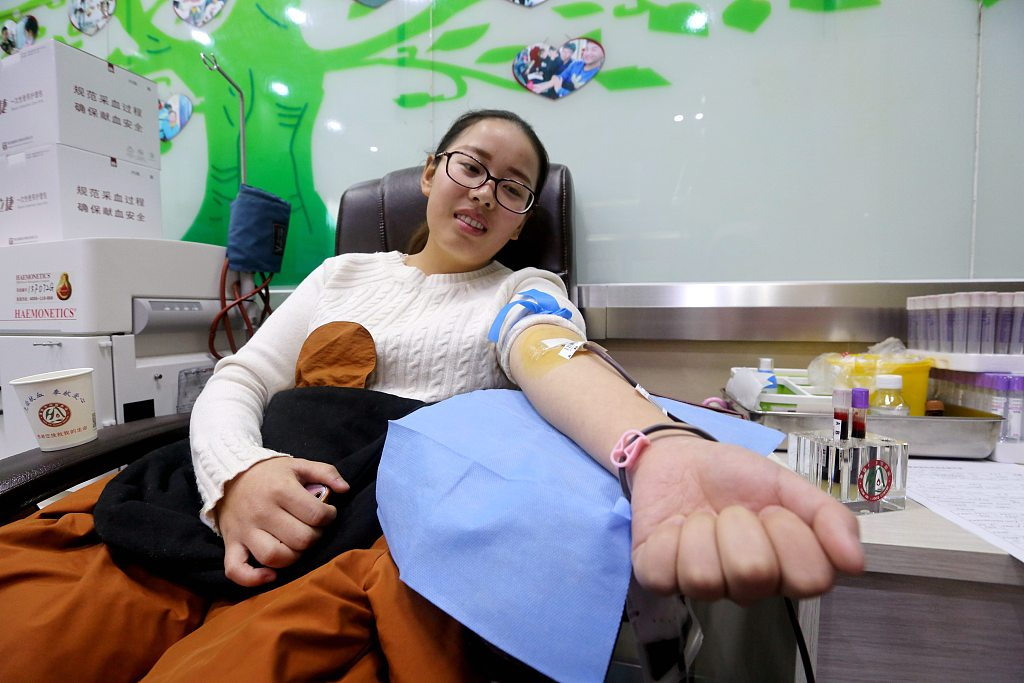 China sees more blood donors