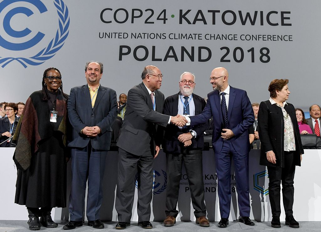 UN climate conference adopts rulebook for implementing Paris deal