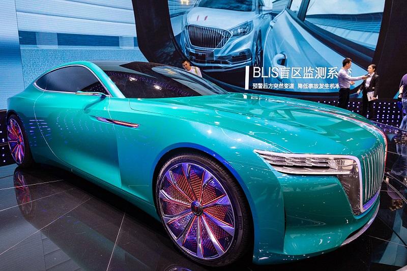China's Hongqi sets sales record