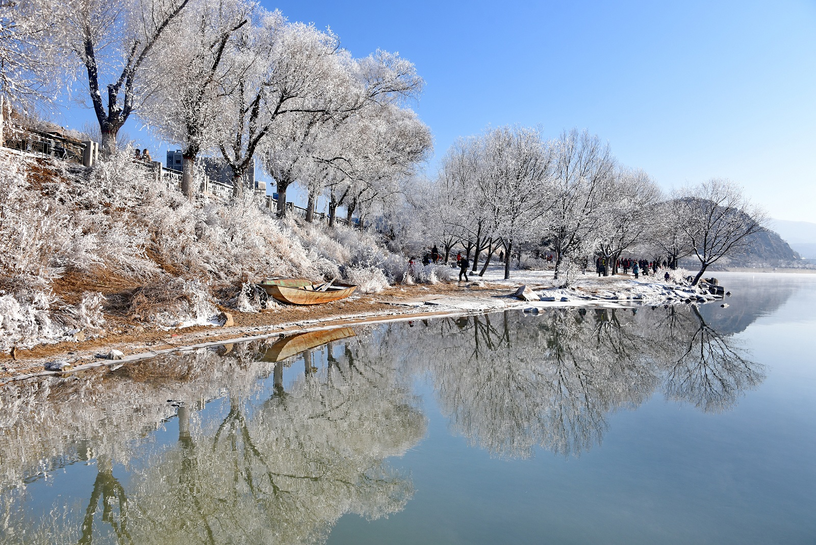 Winter wonderland in Jilin