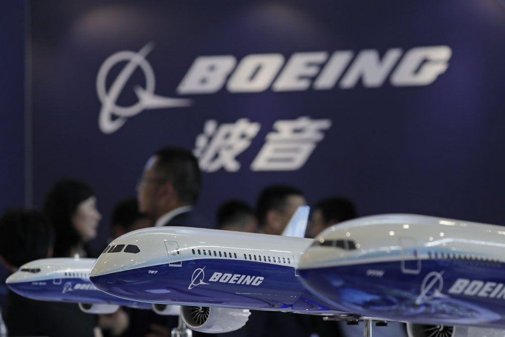 Boeing opens first 737 plant in China