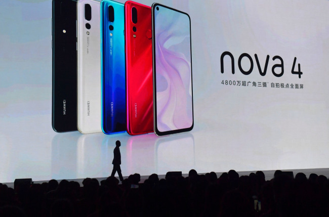 Huawei releases new smartphone