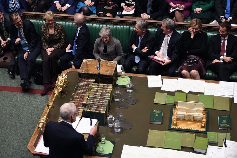 Corbyn submits symbolic no-confidence motion