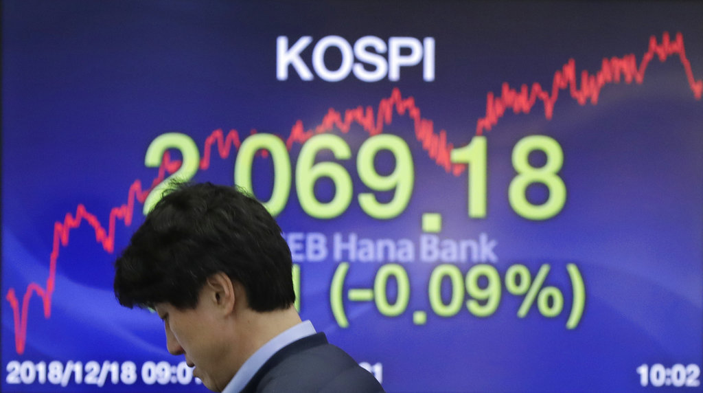 World stocks slip as traders brace for Fed rate increase