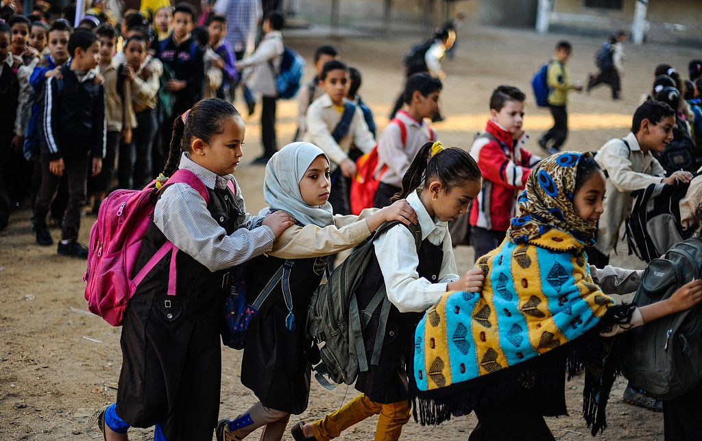 Egypt on road to change ailing educational system