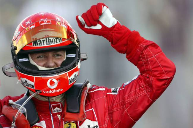 Michael Schumacher now able to walk