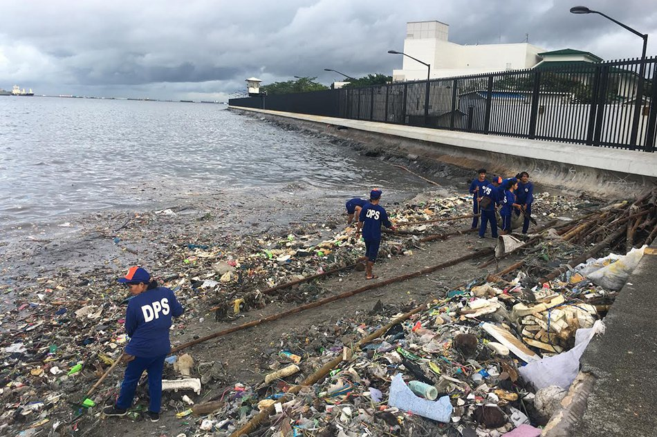 Philippines to rehabilitate polluted Manila Bay