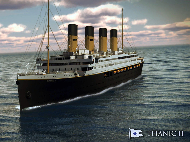 Titanic II could sail in 2022 after construction resumes