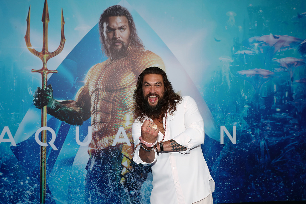 "American film ""Aquaman"" continues to dominate Chinese box office"