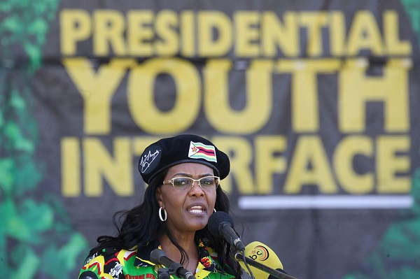 S. Africa issues warrant of arrest for Zimbabwe's former first lady