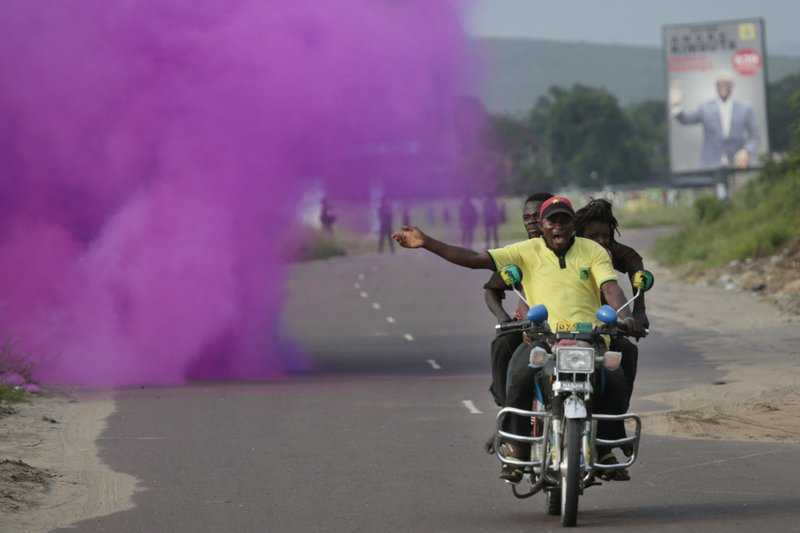 Rallies banned in Congo's capital before presidential vote