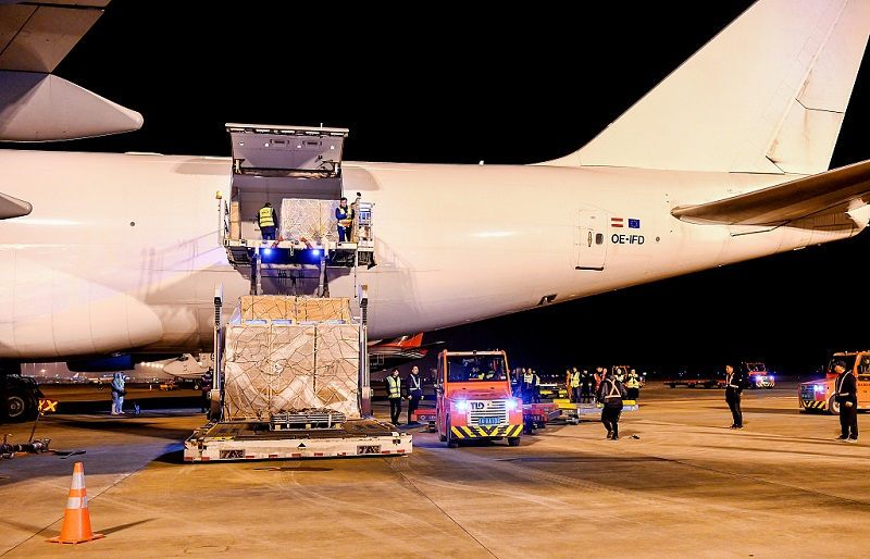 Cargo link launched in Jiangxi Province
