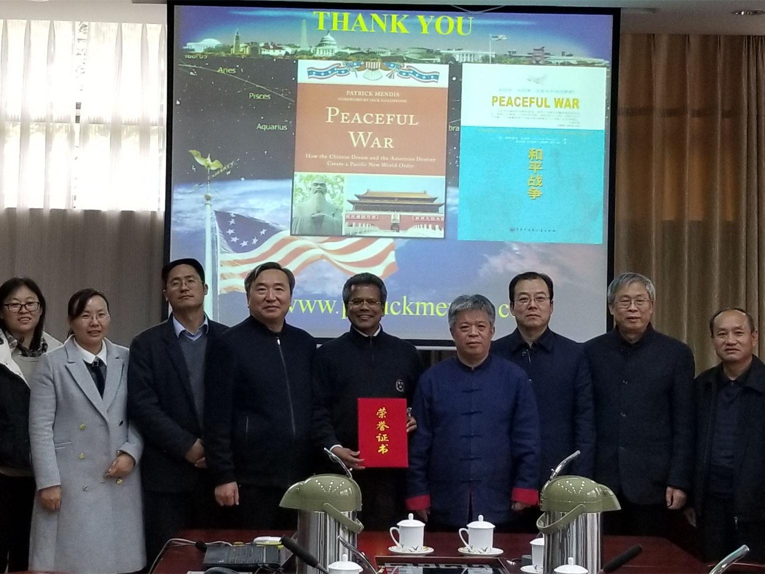 China honors American professor with International Confucius Award