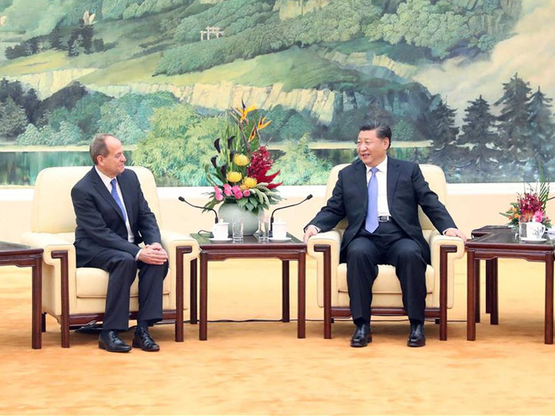 Stephen Perry: I am proud to receive the China Reform Friendship Medal