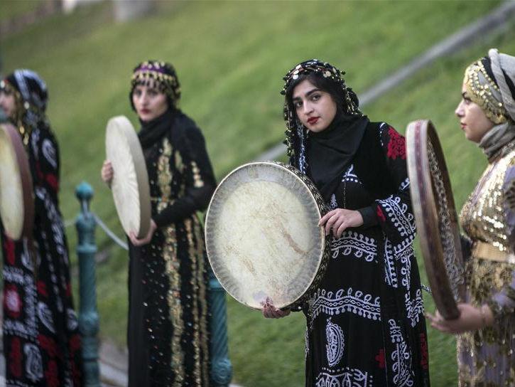 Pomegranate Festival held to celebrate harvest season in Tehran, Iran