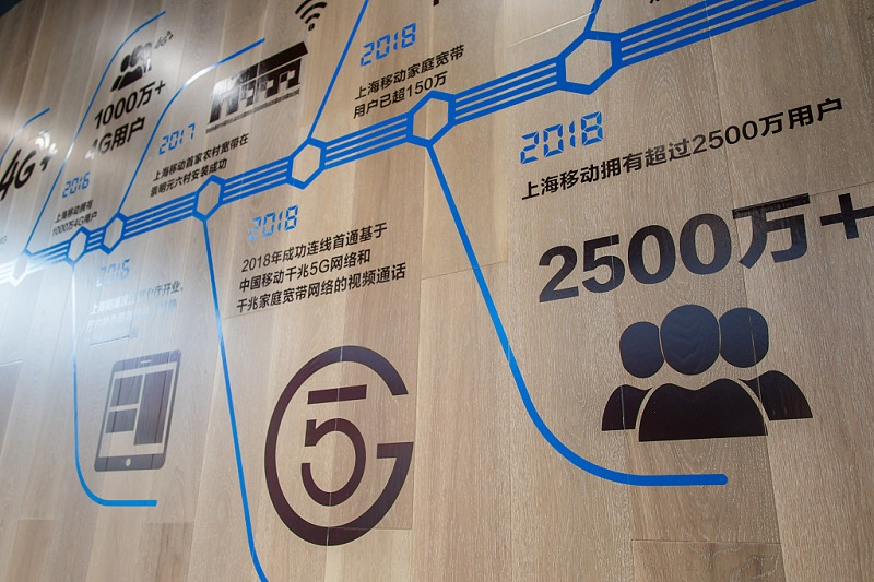 China Mobile Shanghai launches 5G experience hall, with pro e-sports area