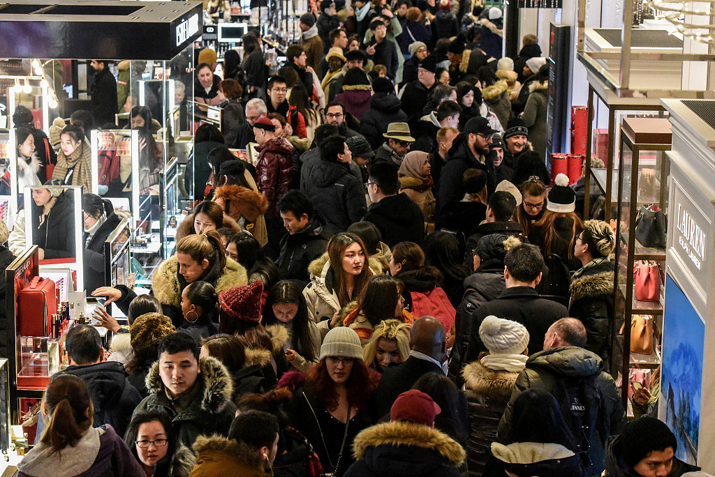UK retail sales boosted by Black Friday