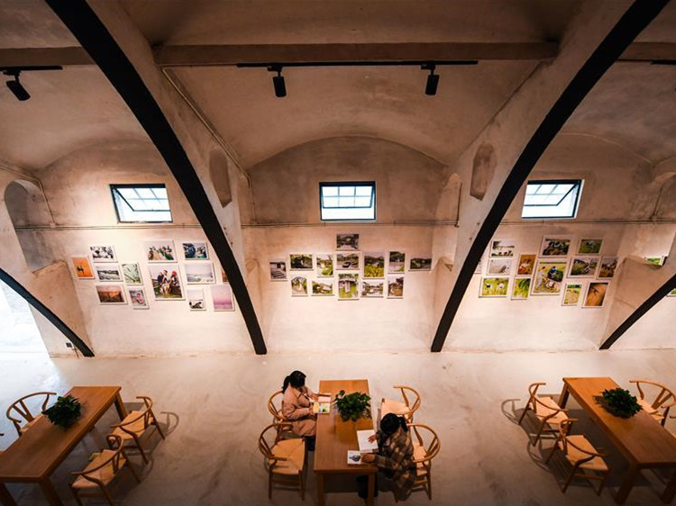3 obsolete granaries transformed into culture, sports center in China's Zhejiang