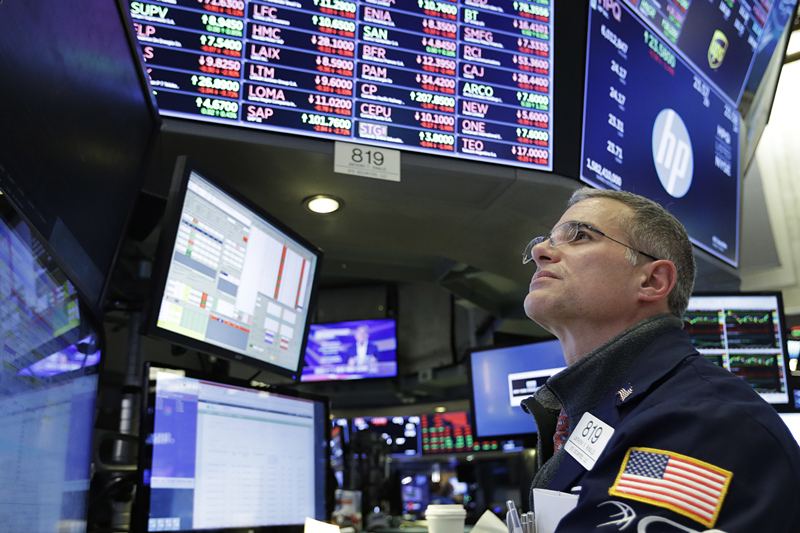 US stocks open lower after Fed decision