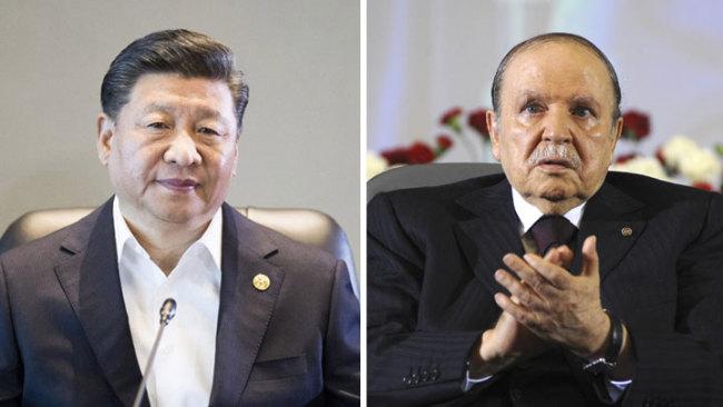 Xi pledges further development of China-Algeria strategic partnership