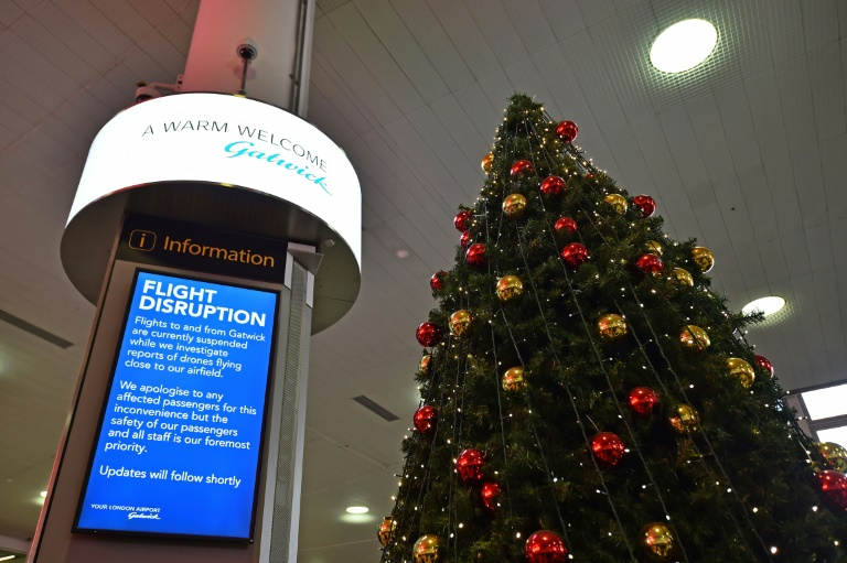 Drone intrusion brings London Gatwick Airport to standstill