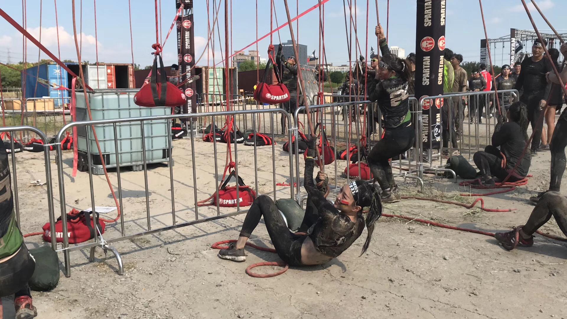 China's weekend Spartan warriors