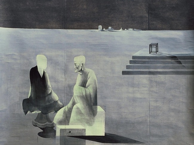 40 years of Chinese ink art on display in Beijing