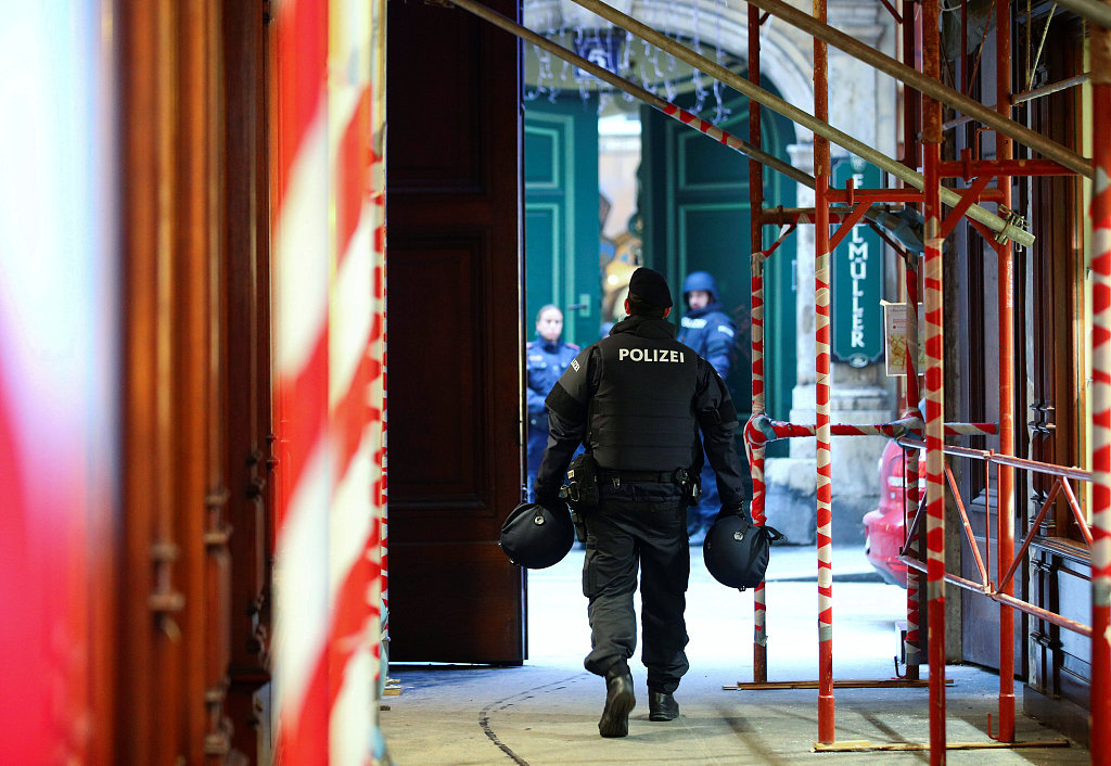One killed,one wounded in Vienna shooting