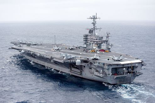 US aircraft carrier enters Persian Gulf after long absence