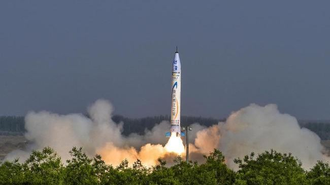 China's first private rocket production base begins operation