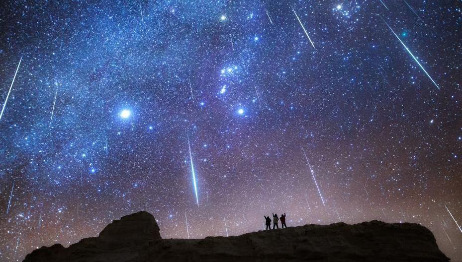 Geminid meteor shower dazzles Qinghai