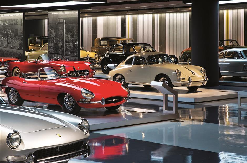 Shanghai Auto Museum chronicles history of Porsche