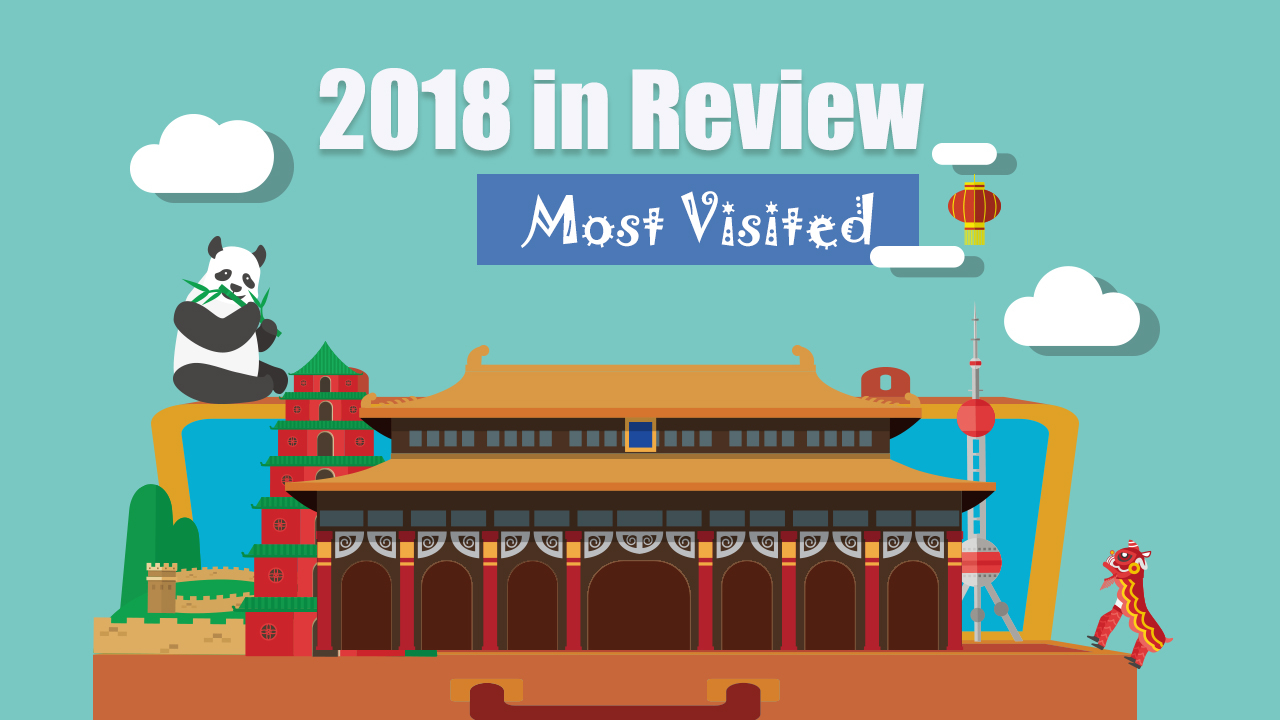 Top 10 most visited places in China in 2018