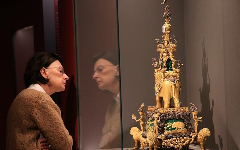 Exhibition 'From the Forbidden City: The imperial apartments of Qianlong' held in Athens