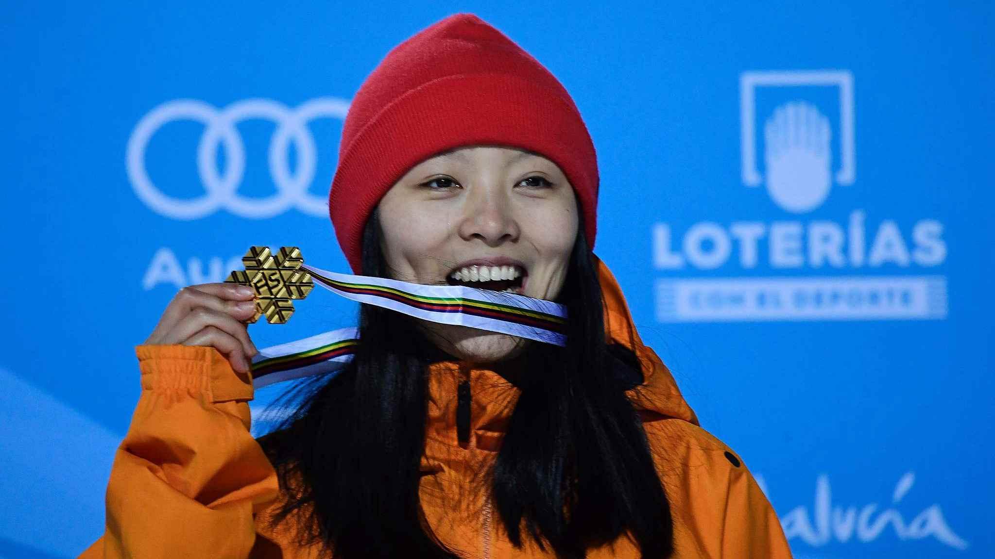 World Champion Cai Xuetong wins half-pipe World Cup