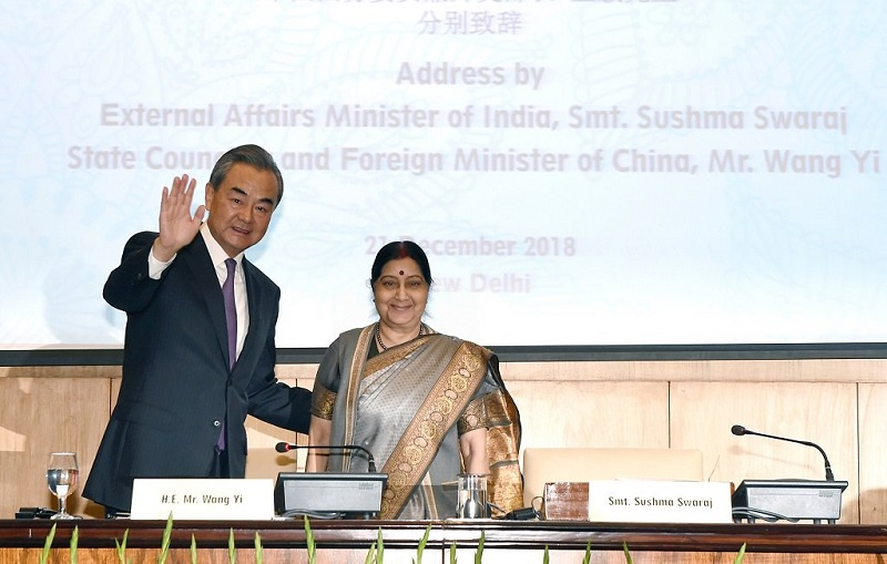 Consensuses reached at first meeting of China-India high level people-to-people exchanges mechanism: Wang Yi