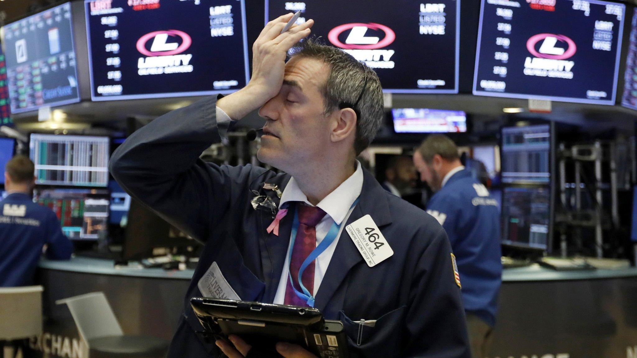 US stocks post huge weekly loss amid data, Fed decision