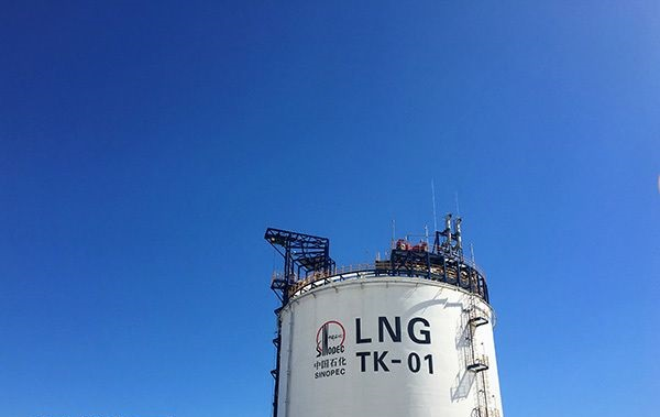 China's LNG imports hit new high in November