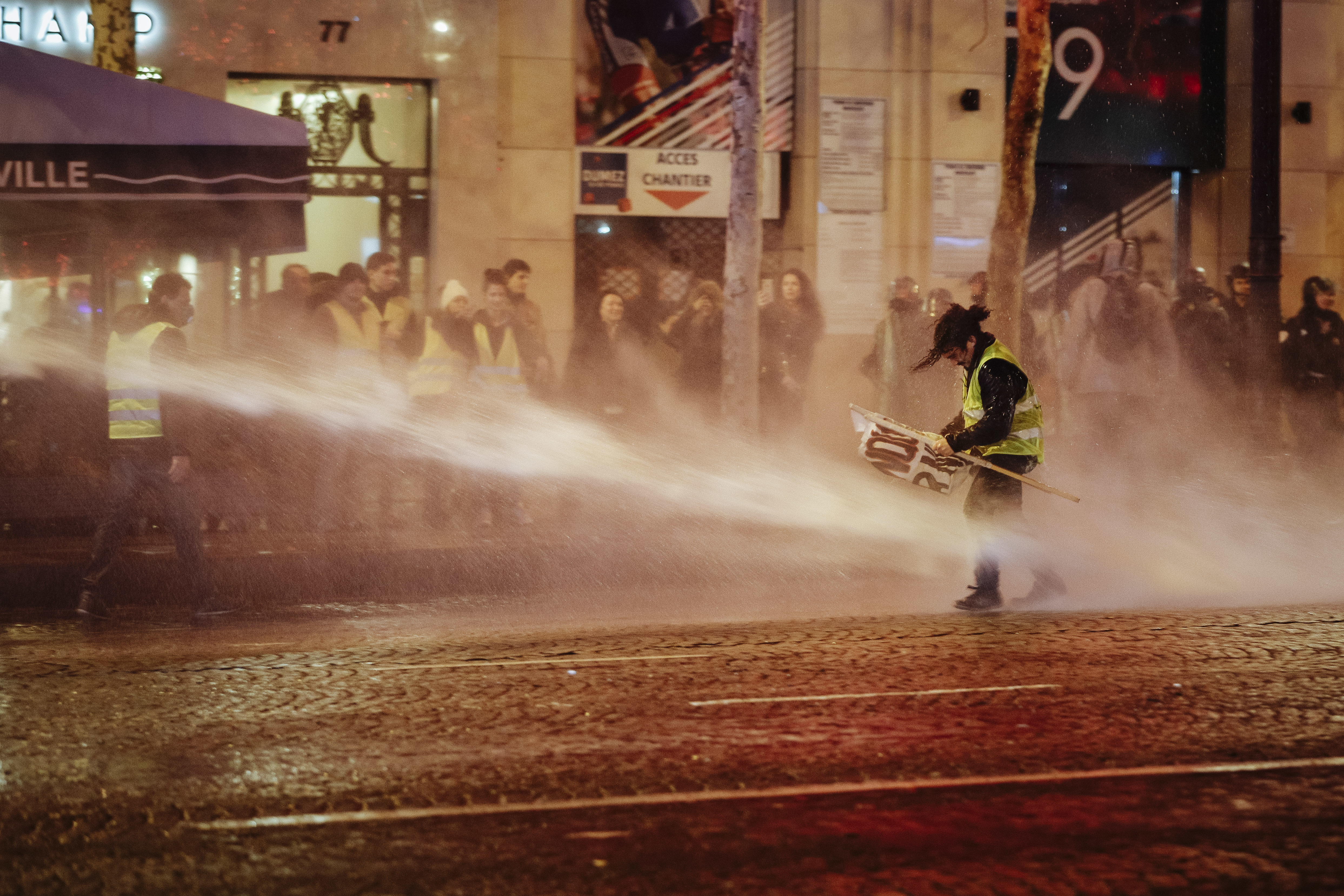 French police defend actions after clashes with protesters