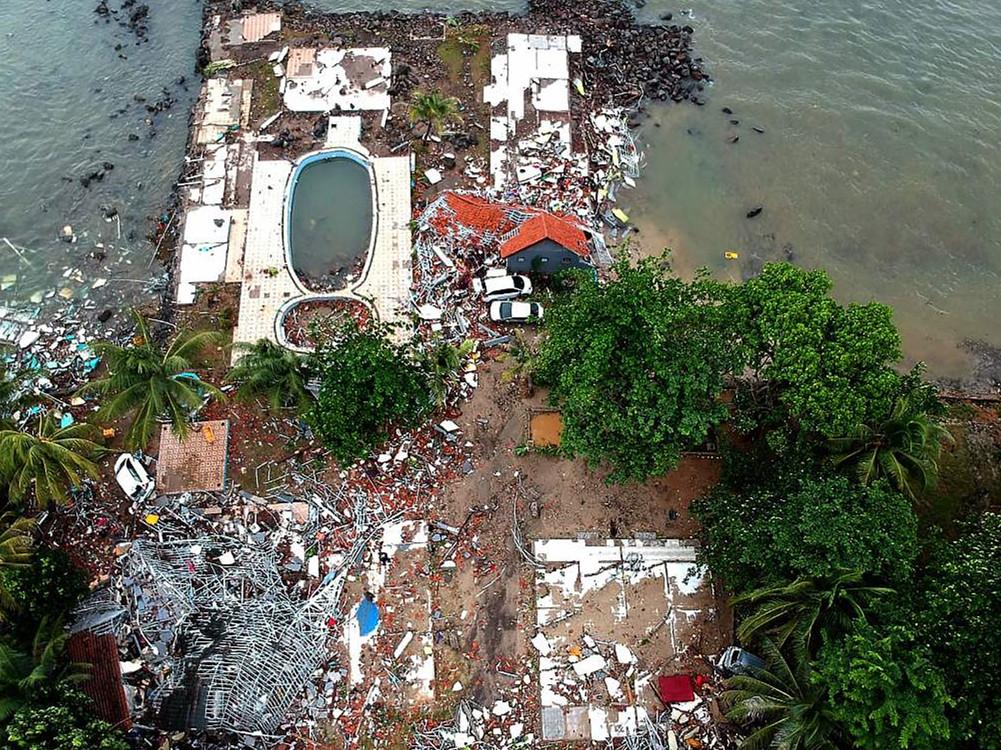 In pics: Indonesian coast devastated by deadly 'volcano tsunami'